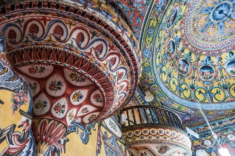 Рисуваната джамия, Тетово