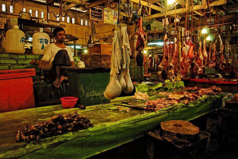 Пазар в Янгон