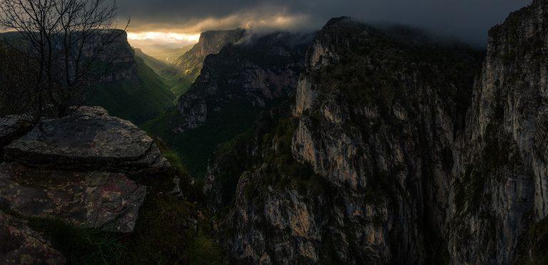 Превъплъщенията на каньона Викос