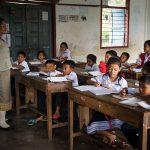 Училище в Южен Лаос