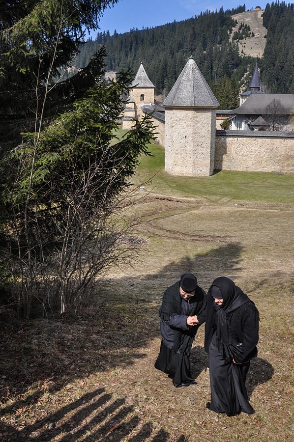 """Манастирът """"Сучевица"""", Буковина"""