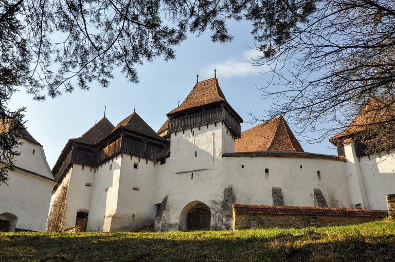 Църквата крепост във Вискри, Трансилвания